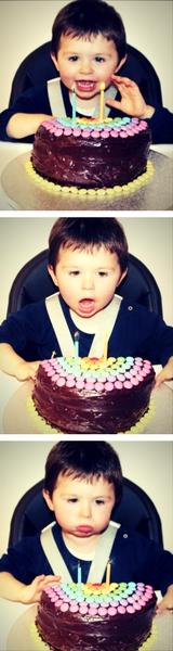 bougies anniversaire Martin